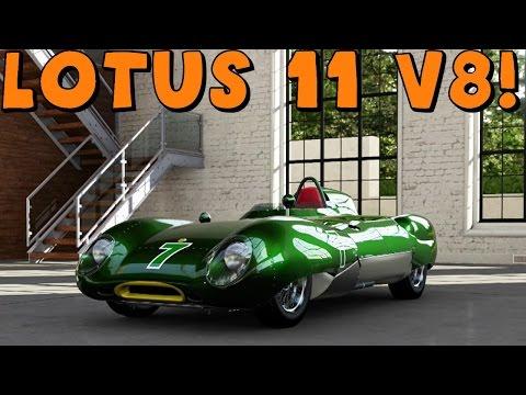 Forza 5 | Lotus 11 | Insanely Light! 547 HP V8 Swap | Drift Build