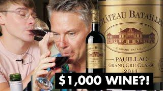 Video Does More Expensive Wine Taste Better? ($1000 vs $40 vs $5) // with British Gentleman: Ollie's Dad MP3, 3GP, MP4, WEBM, AVI, FLV Agustus 2019