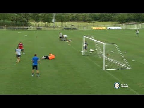 Training in China | Inter 2015/16 видео