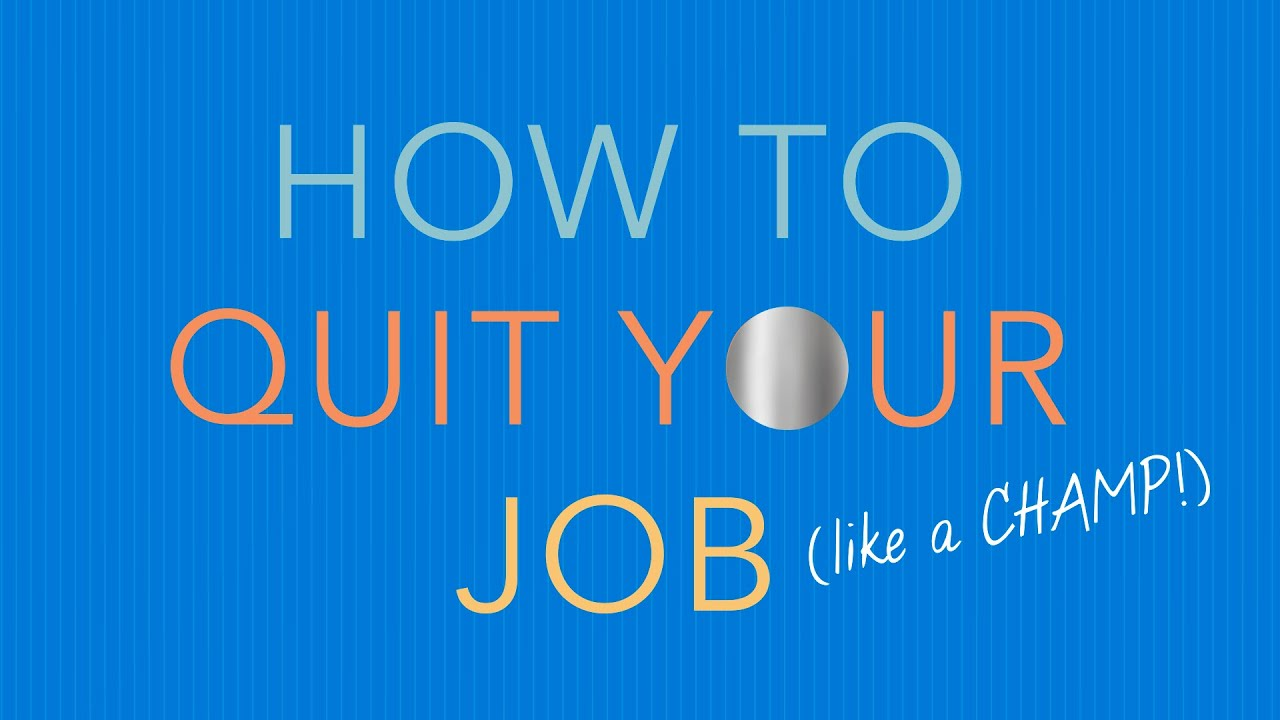 How to Quit Well: A Guide from the Authors of DESIGNING YOUR WORK LIFE