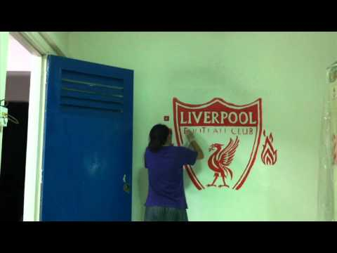 Wall Painting Liverpool Logo