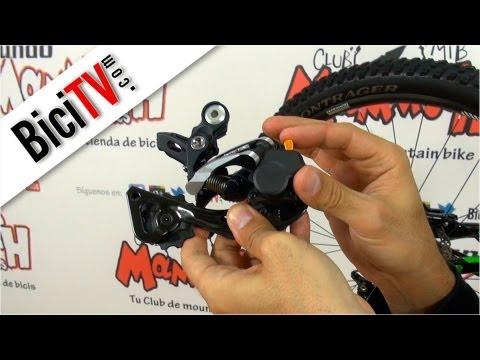 Novedad Shimano para regular la tensión del cambio de bicicleta