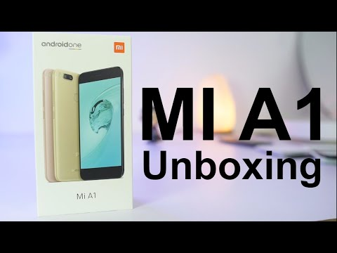MI A1 Unboxing Specs Price and Initial Impressions