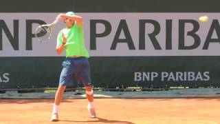 Rafa practice on June 6, 2013 at RG 2013 - YouTube
