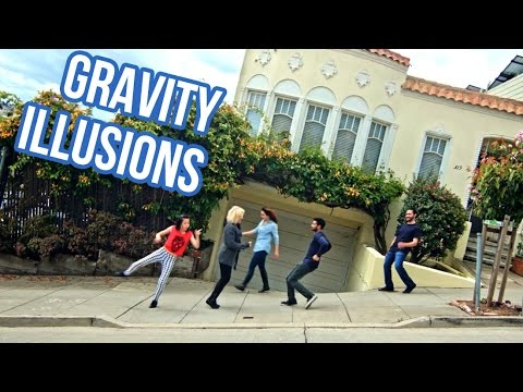 Cool video of Tilting the Streets of San Francisco Gravity Illusions on
