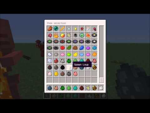 Minecraft 1.1 les nouveauté oeuf à mob, enchantement d'arc, mouton...