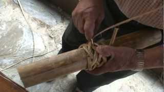 花蓮區部落經驗交流觀摩--阿美族傳統工法(藤編)影片教學