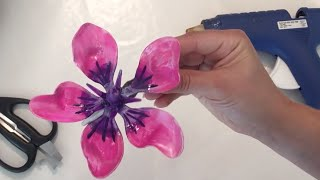 Floral Hair Piece - Hibiscus Clip
