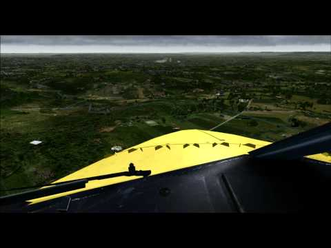 aerosoft - Cockpit landing PDMG 737-800 NGX ( TUI FLY X3 ) on Aerosoft stuttgart X also a quick view of the airfield and 2 landings ( 737-800 TUIFLY X3 and Airbus X A-3...