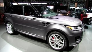 2014 Range Rover Sport Autobiography - Exterior And Interior Walkaround - 2013 New York Auto Show
