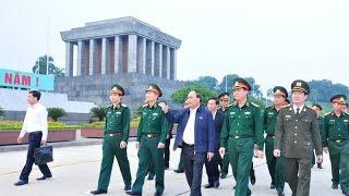 Phó Thủ tướng Chính phủ Nguyễn Xuân Phúc kiểm tra công tác tu bổ định kỳ năm 2015