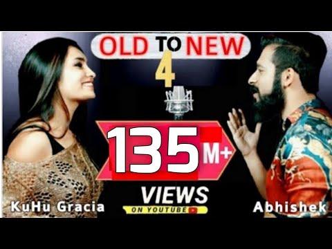 Old to New-4 | KuHu Gracia | Ft. Abhishek Raina | Bollywood Romantic Songs | The Love Mashup