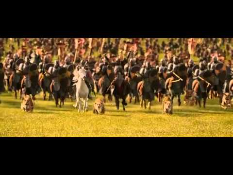 The Chronicles Of Narnia - The Lion,The Witch And The Wardrobe-battle Scene