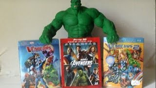 Nonton [Unboxing] Déballage Blu-ray 3D AVENGERS Edition spéciale FNAC 4 DISC No SPOILER (HD 720p) Film Subtitle Indonesia Streaming Movie Download