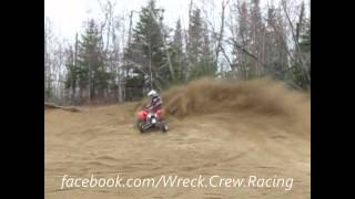 7. Yamaha yfz450 gytr vs Ktm polaris outlaw 450 mxr sand pit quad movie Wreck Crew Racing