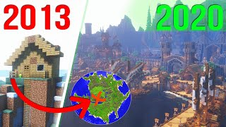 I Spent 7 YEARS Building One EPIC Minecraft World!