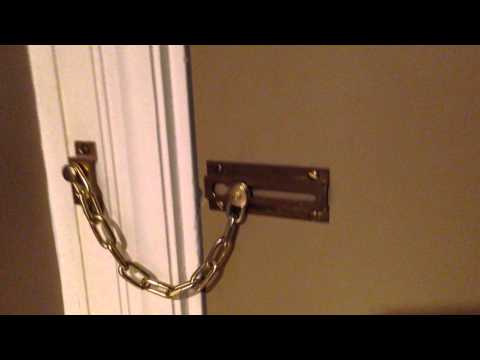 Hotel Door Chain FAIL