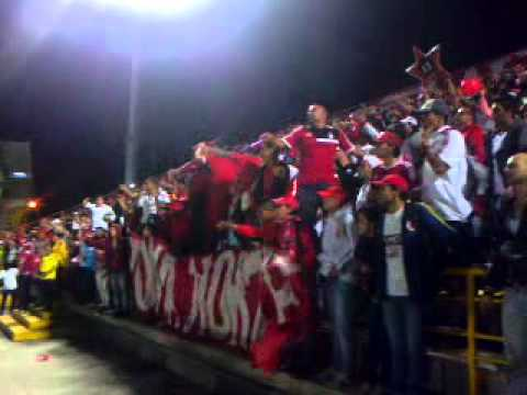Disturbio Rojo Bogota - Disturbio Rojo Bogotá - América de Cáli