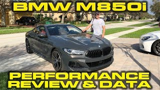 BMW M850i Launch Control & Performance Review with VBOX Data by DragTimes