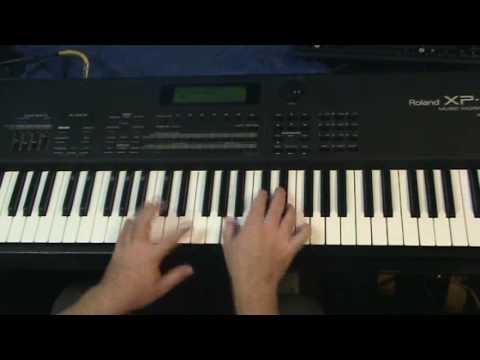 Como tocar Merengue Facil 5 Cristiano. merengue tutorial, latino