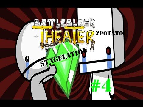 [BattleBlock Theater] : เหยียบย่ำข้าสิ !! [4]feat.ZPotato