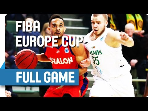 Khimik-Chalon 79-83 (FIBA Europe Cup quarterfinal No8 white, 16pts, 8reb)