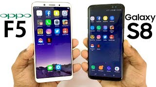 Video Oppo F5 vs Samsung Galaxy S8 Speed Test! MP3, 3GP, MP4, WEBM, AVI, FLV November 2017