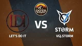 Let's Do It против VGJ.Storm, Первая карта, DOTA Summit 9 LAN-Final