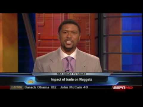 Jalen Rose - Impact of the Iverson trade on the Nuggets