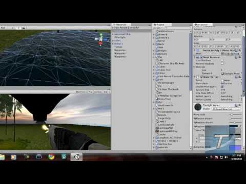 preview-Create a FPS Game in Unity 3D #6 - Water Effects (TechzoneTV)