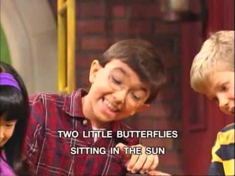 Barney - 3 Little Butterflies Song