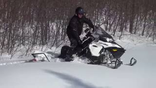 2. Ski-Doo Expedition Sport 900 Ace DEEP snow !!!