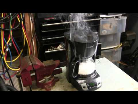 Coffee Maker Destruction