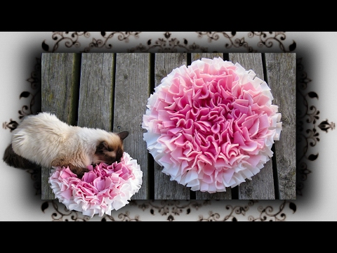 DIY 😻 Fummel Schnüffel Matte für Katzen & Hunde | snuffle mat for cats and dogs cats
