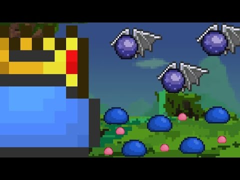 KING SLIME'S ARMY - Terraria Server Event