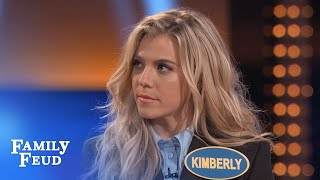 Video The Band Perry's Kimberly KILLS on Fast Money | Celebrity Family Feud | OUTTAKE MP3, 3GP, MP4, WEBM, AVI, FLV Desember 2018