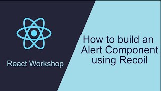 How to build an Alert Component using Recoil