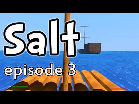 Salt - Let's play SALT the game! In this episode, we upgrade a few tools and weapons and sail to a nearby island to check out a pirate ship! My SALT playlist: http:...