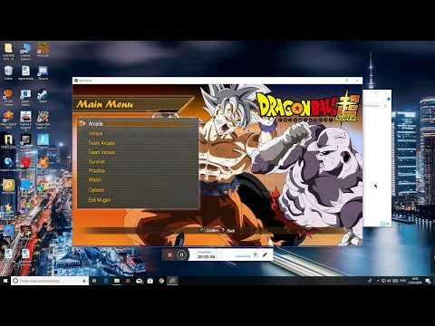 Como baixar DRAGON BALL SUPER mugen V2 NO PC!!Windows 10