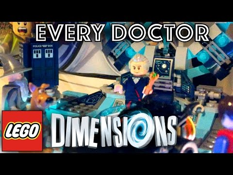 More Sneak Peaks at Doctor Who in LEGO Dimensions!