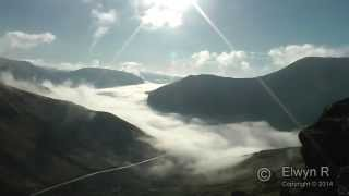Total Cloud Inversion,  Bwlch Oerddrws Timelapse ( Mach Loop)