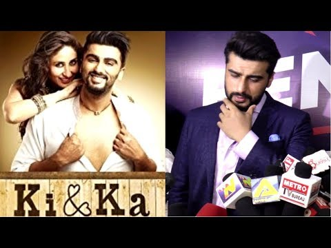 Arjun Kapoor Talks About Ki & Ka Movie | Bend The Gender Awards 2018 |