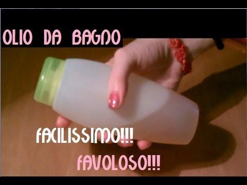 OLIO DA BAGNO idratante e detergente!