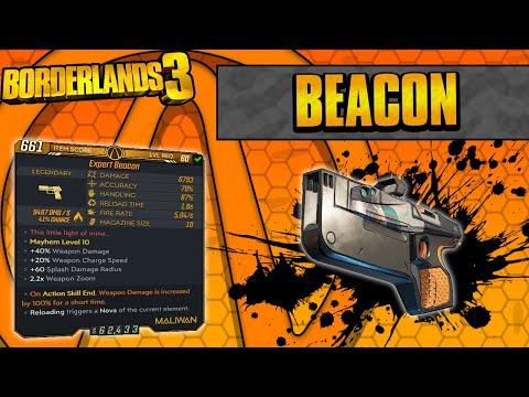 Borderlands 3 | Beacon Legendary Weapon Guide (Reloading Novas!)