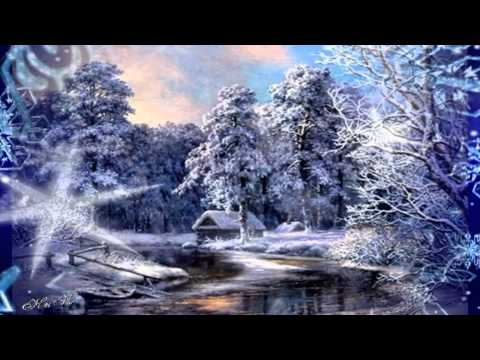 Серебристые снежинки