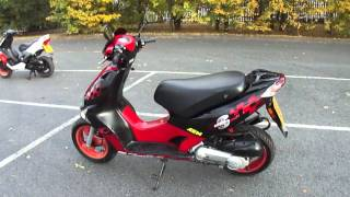 6. 2007 KYMCO SUPER 9 2T 50 SCOOTER MOPED TECNIGAS EXHAUST 50MPH NEW MOT & TAX GC