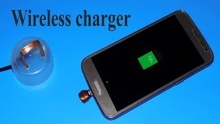 How to Make a Wireless Charger  at Home