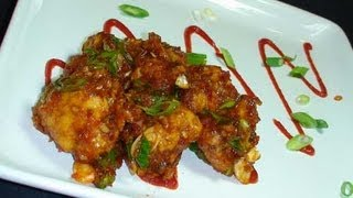 Gobi (Cauliflower) Manchurian Dry Recipe