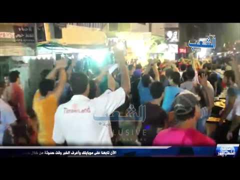 شاهد | أولتراس أحرار يشعل حماس مسيرة مناهضة الإنقلاب بإمبابة