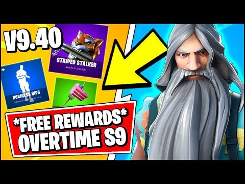 *ALL* Fortnite 9.40 LEAKED SKINS | NEW FREE REWARDS - OVERTIME & BIRTHDAY CHALLENGES (Fortnite)